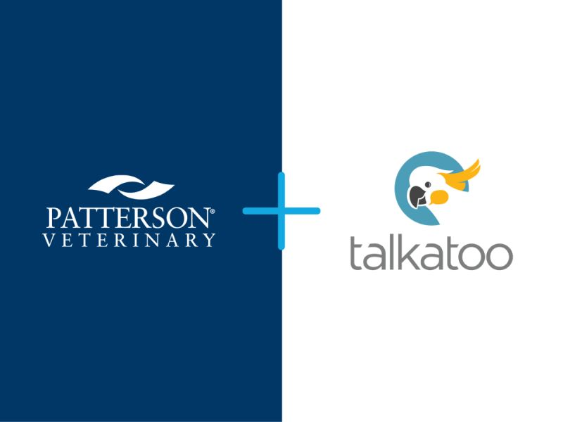 PATTERSON VETERINARY ANNOUNCES PARTNERSHIP WITH TALKATOO
